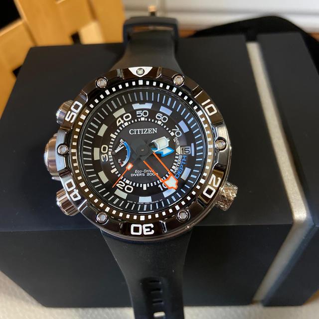 CITIZEN(シチズン)の連休限定値下げ交渉受け付け‼️極美品‼️シチズンプロマスターアクアランド メンズの時計(腕時計(アナログ))の商品写真