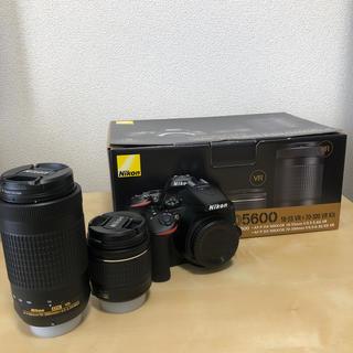 Nikon - Nikon D5600 ダブルズームキット  付属品あり