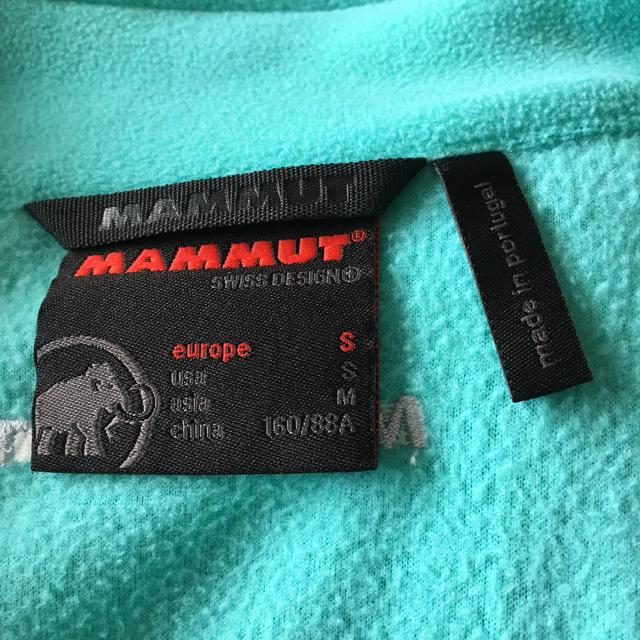 Mammut(マムート)のマムート Mammut Women レディース フリース Mサイズ スポーツ/アウトドアのアウトドア(登山用品)の商品写真