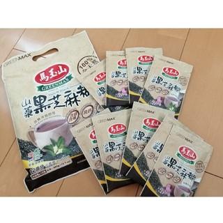 馬玉山 紫山藥黑芝蔴糊 (紫山芋黒ゴマ糊)  9個包装(健康茶)