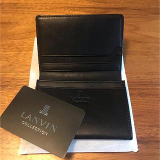 ランバン(LANVIN)の新品未使用 LANVIN 名刺入れ(名刺入れ/定期入れ)