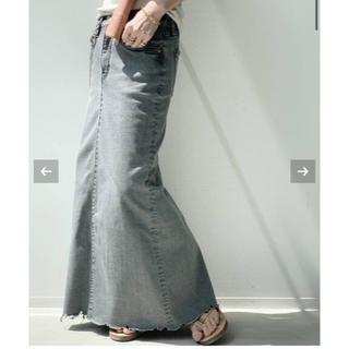 L'Appartement DEUXIEME CLASSE - アパルトモン♡GOOD GRIEF DENIM LONG スカート
