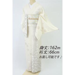 IKUMI様専用★刺繍■豪華桜の花模様訪問着■白地桜の地模様着物◆HS5-7》(着物)