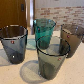 イッタラ(iittala)のイッタラ カルティオ グラス 4個セット(グラス/カップ)
