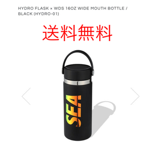 HYDRO FLASK × WDS 16OZ WIDE MOUTH BOTTLE