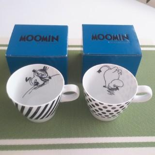 リトルミー(Little Me)の専用【新品】ムーミン&リトルミィ モノトーンマグカップ(グラス/カップ)
