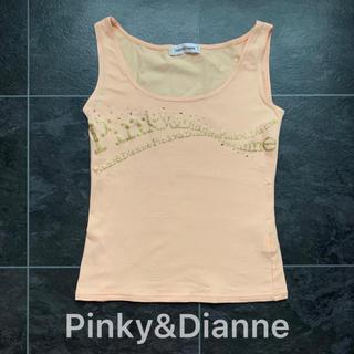 ピンキーアンドダイアン(Pinky&Dianne)のPinky&Dianne♡ノースリーブトップス♡パステルオレンジ(Tシャツ(半袖/袖なし))