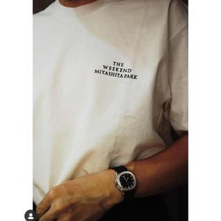 COMOLI - THE WEEKEND MIYASHITA PARK Tシャツ 白 L 新品
