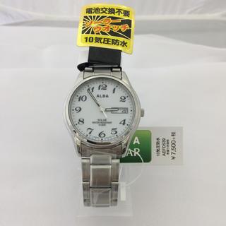 アルバ(ALBA)の アルバ ソーラー AEFD539 (ホワイト/シルバーメタル)(腕時計(アナログ))