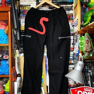 BEAMS - Beams ssz parasite zip pants BLACK Sサイズ