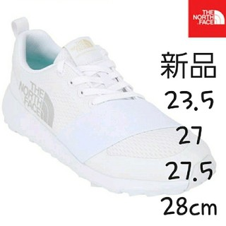 THE NORTH FACE - ノースフェイス スニーカー THE NORTH FACE 新品 ロゴ 27.5