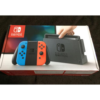 Nintendo Switch - 美品 Nintendo Switch ニンテンドースイッチ 本体  ネオン
