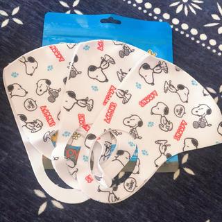 スヌーピー(SNOOPY)のスヌーピー マスク 3枚セット(その他)