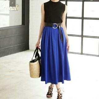 スタイルデリ(STYLE DELI)の新品タグ付き スタイルデリ ギャザースカート(ロングスカート)