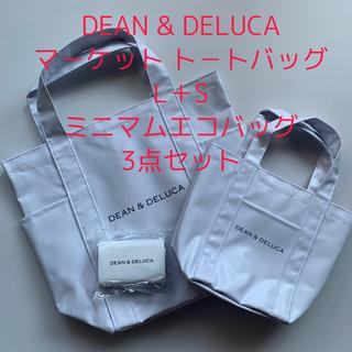 DEAN & DELUCA - DEAN&DELUCA マ-ケット ト-トバッグ L+S ミニマム エコバッグ