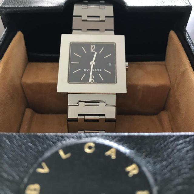 BVLGARI(ブルガリ)のブルガリ クアドラードボーイズタイプ レディースのファッション小物(腕時計)の商品写真