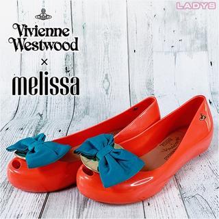 ヴィヴィアンウエストウッド(Vivienne Westwood)のVivienne Westwood × melissa 22.5cm パンプス(ハイヒール/パンプス)