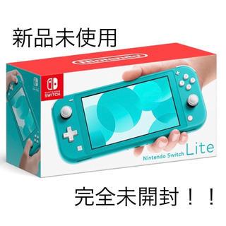 Nintendo Switch - 新品 Nintendo Switch ニンテンドースイッチライト ターコイズ