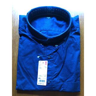 ユニクロ(UNIQLO)のプリントシャツ(ユニクロ)長袖 4XL 新品(シャツ)