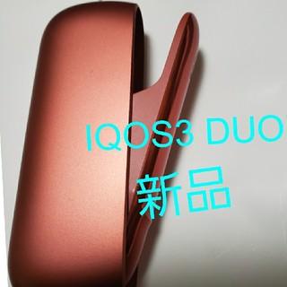 IQOS - IQOS3 DUO アイコス3 デュオ チャージャー 新品 赤色