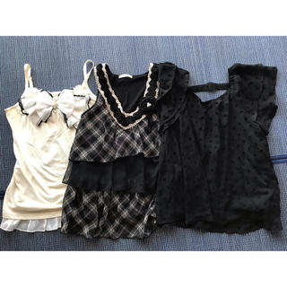 axes femme - axesfemme【中古】キャミ・トップス 3枚セット M