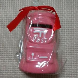 ポスト型貯金箱 ピンク