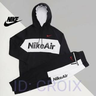ナイキ(NIKE)の(Mサイズ)NIKE ジョガーパンツ フーディー パーカー セットアップ(スウェット)