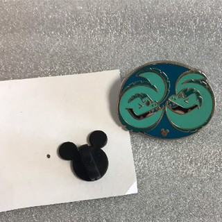 Disney - ジェットサムとフロットサムのヒドゥンミッキーピン