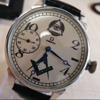 オメガ(OMEGA)の【OH済み】OMEGA オメガ フリーメイソン 腕時計 ヴィンテージ(腕時計(アナログ))