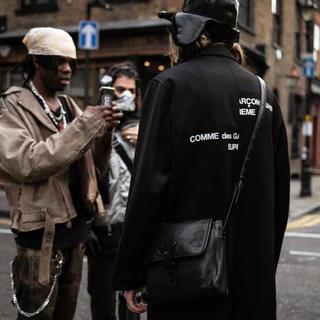 シュプリーム(Supreme)のSupreme comme des garcons over coat(チェスターコート)