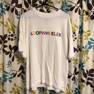 LOOPWHEELER x BEAMS Tシャツ