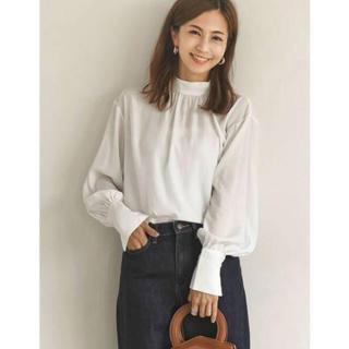Mila Owen - ハイネックバルーンスリーブシャツ 【安田美沙子さん×Re:EDIT】