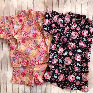 女の子 日本製 甚平上下(甚平/浴衣)