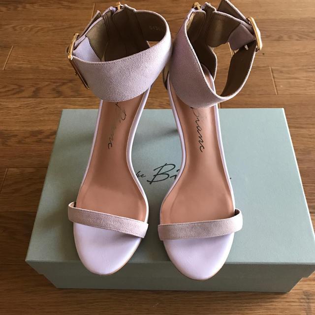AU BANNISTER(オゥバニスター)のABAHOUSE Au BANNISTER アンクルストラップサンダル レディースの靴/シューズ(サンダル)の商品写真