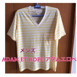 アダムエロぺ(Adam et Rope')のADAM ET ROPE アダムエロペ Tシャツ ボーダー 日本製(Tシャツ/カットソー(半袖/袖なし))