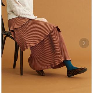 ドットアンドストライプスチャイルドウーマン(Dot&Stripes CHILDWOMAN)のティアードプリーツスカート(ロングスカート)