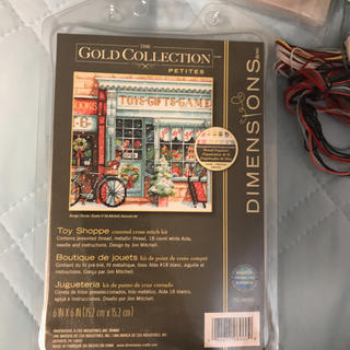 dimensions gold collection 図案のみ(型紙/パターン)