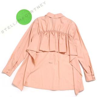 Stella McCartney - 新品 STELLA McCARTNEY バックギャザーシャツ 定価74,000円
