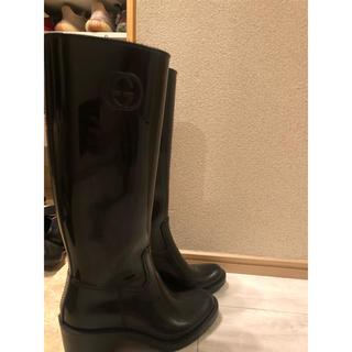 グッチ(Gucci)のGUCCI  GGマークレインブーツ 長靴(レインブーツ/長靴)