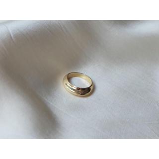 ユナイテッドアローズ(UNITED ARROWS)の𓄲volume ring𓄲⦅gold⦆(リング(指輪))