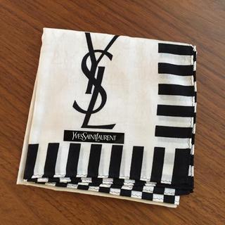 サンローラン(Saint Laurent)の⭐️再値下げ⭐️新品⭐️イヴ・サンローラン ハンカチ スカーフ(ハンカチ)