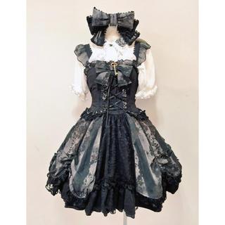 ゴスロリ ゴシック 森ガール ドレス豪華セット(衣装一式)
