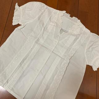レーストップス(シャツ/ブラウス(半袖/袖なし))