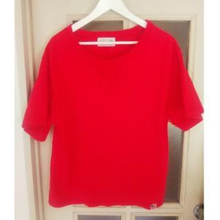 チャイルドウーマン(CHILD WOMAN)の美品 チャイルドウーマン My Fav. CHILD WOMAN USAコットン(Tシャツ(半袖/袖なし))