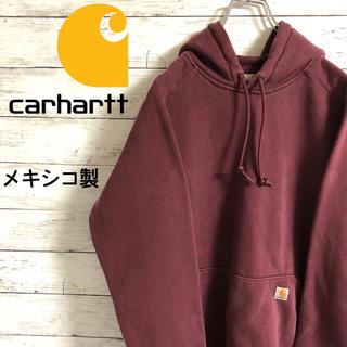 carhartt - 【激レア】カーハート☆ロゴタグ ボルドー パーカー プルオーバー メキシコ製