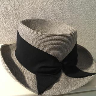 ロンハーマン(Ron Herman)のBERTINI ストローハット 麦わら帽子 ベルティーニ ツバ広帽子(ハット)