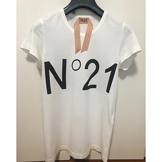 N°21 - ヌメロヴェントゥーノ Tシャツ 白