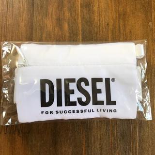 ディーゼル(DIESEL)の[新品] DIESEL コインケース・小物ケース ホワイト/白 ノベルティ(コインケース/小銭入れ)