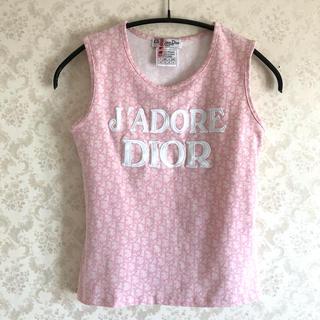 Christian Dior - ChristianDior ディオール トロッター柄 タンクトップ