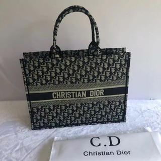 Christian Dior - 美品 クリスチャン・ディオール ブックトート ブラック